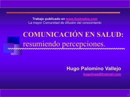 Comunicacion en Salud