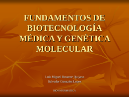 Presentación Biotecnologia Medica