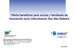 Diapositiva 1 - Asociación de Taxis de las Baleares