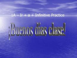 1A - Ir a inf practice