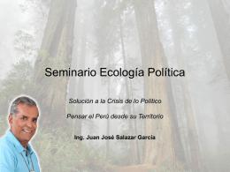 Seminario Ecología Política