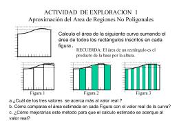 ACTIVIDAD DE EXPLORACION 1 Aproximación del Area de