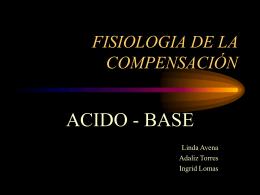 Fisiologia de la compensacion acido base