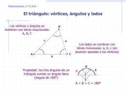 Matemáticas. 1º ESO