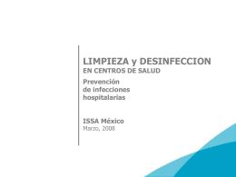 Epidemiología de las infecciones nosocomiales