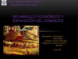 Desarrollo Económico y expansión del comercio