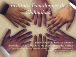 Selección. - ITCh DEPI - Instituto Tecnológico de Chihuahua