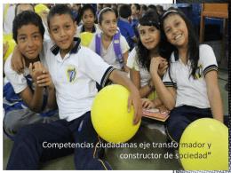 """""""Competencias ciudadanas eje transformador y"""