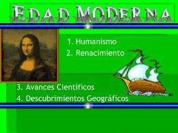 EDAD MODERNA - Sociales-TIC