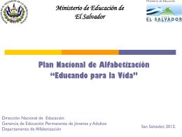 Ministerio de Educación de El Salvador