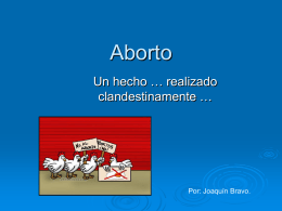 aborto - WordPress.com