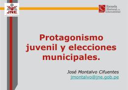 Protagonismo Juvenil y Elecciones Municipales