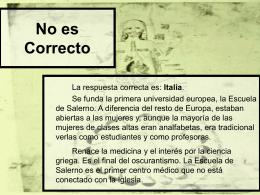 No es Correcto - Gobierno de Canarias
