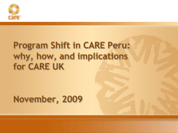 P2P Peru November - P