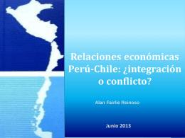 Relaciones Comerciales Perú – Chile