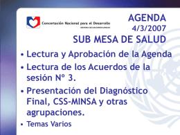 Agenda - Fundacion Libertad (Panamá)