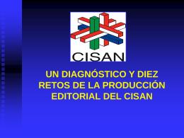 Presentación Retos CISAN - Centro de Investigaciones sobre