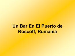Bar En Rumania - La página de Pepe Quiralte