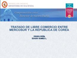 Tratado de Libre Comercio Entre Mercosur y la Republica