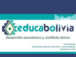 Desarrollo económico y conflicto étnico