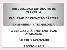 universidad autonoma de tlaxcala facultad de ciencias basicas