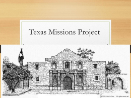 Missions Project