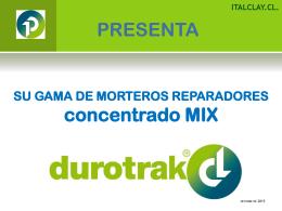 presentación durotrak concentrado mix