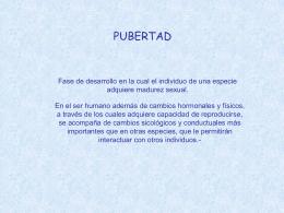 Presentación Pubertad Precoz