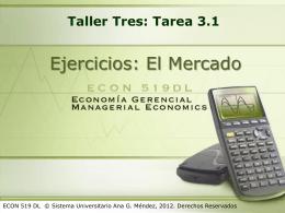 Taller Tres: Tarea 3.1
