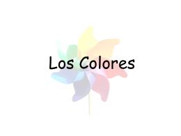 Los Colores - Mr. Schepisi
