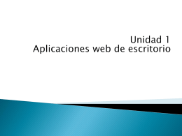 1.1. Internet, la World Wide Web y sus aplicaciones