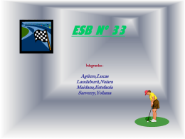 ESB Nº 33 Integrantes