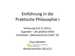 Tugenden - Claus Beisbart