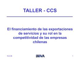 BBVA - Chilexporta Servicios