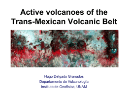 Active volcanoes of the Trans