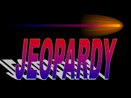 Jeopardy SPN IIU5L1