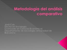 Metodología del análisis cualitativo – Cais