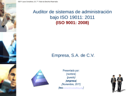 P3.Auditor.ISO.19011.ISO9