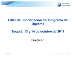Subasta Taller Coordinadores Analgesia