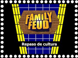 Family Feud - ESL Version - DouglasCountyForeignLanguage