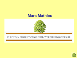 Some centers for employee ownership in European countries