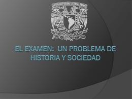 LOS EXAMENES CRITICA.
