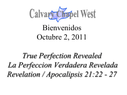Revelation 19:1-10 - Calvary Chapel West