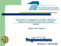 Innovación educativa - Tecnológico de Monterrey