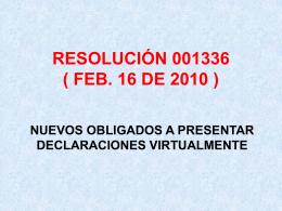 RES. 001336 Feb. 16 de 2010 - Centro de Contadores Públicos