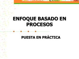 5. GESTIÓN DE PROCESOS