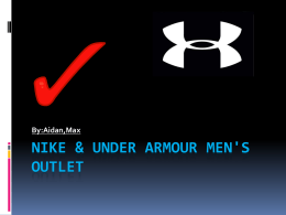 Nike outlet & under armor outlet