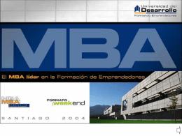 MBA UDD - AltaVoz