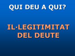1. El deute és il·legítim?