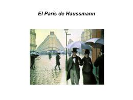 Paseo por el París de Haussmann